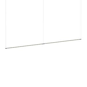 Z-Bar Matte Black 96-Inch LED Pendant