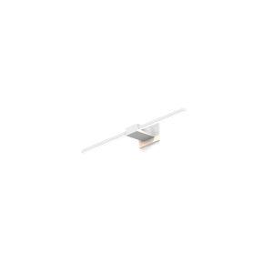 Z-Bar Matte White LED Wall Sconce