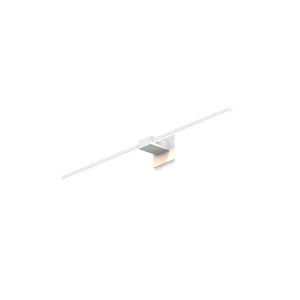 Z-Bar Matte White Soft Warm LED Wall Sconce