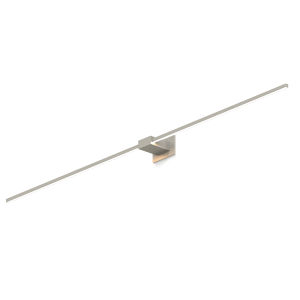 Z-Bar Brushed Nickel 60-Inch LED Wall Sconce