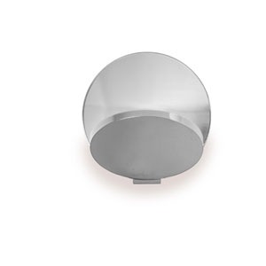 Gravy Chrome Plug-In LED Wall Sconce