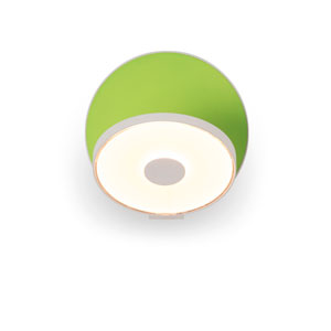 Gravy Matte Green Plug-In LED Wall Sconce