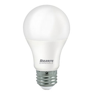 9W A19 E26 Title 24 Energy Star 3000K LED Frost Bulb