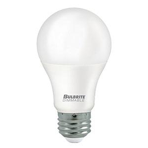9W A19 E26 Title 24 Energy Star 3000K LED Frost Bulb