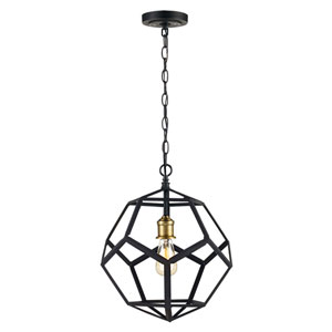 Cyrus Oil Rubbed Bronze 14-Inch One-Light Pendant