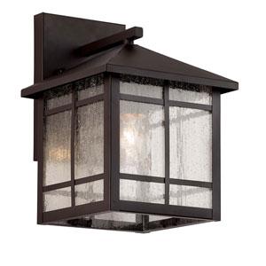 Capistrano Oil Rubbed Bronze Seven-Inch One-Light Wall Lantern