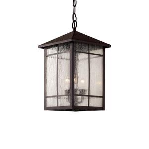 Capistrano Oil Rubbed Bronze Three-Light Hanging Lantern