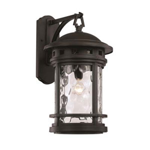 Boardwalk Black 11-Inch One-Light Wall Lantern