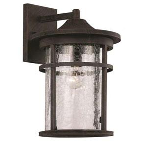 Avalon Rust Nine-Inch One-Light Wall Lantern
