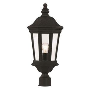 Westfield Black Nine-Inch One-Light Post Mount Lantern