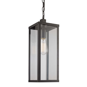 Oxford Black Six-Inch One-Light Hanging Lantern