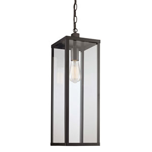 Oxford Black Seven-Inch One-Light Hanging Lantern