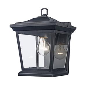 Turlock Black One-Light Wall Lantern