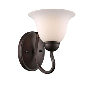 Glasswood Oil Rubbed Bronze Seven-Inch One-Light Wall Sconce