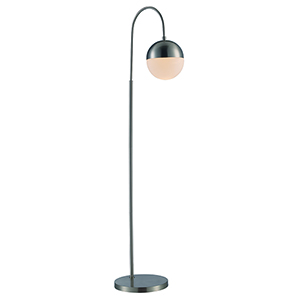 Expedition Brushed Nickel One-Light Floor Lamp