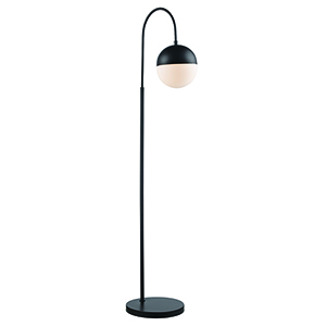 Expedition Rubbed Oil Bronze One-Light Floor Lamp