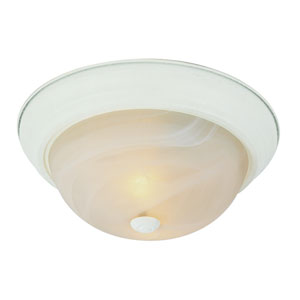 The Standard 13 Inch Flushmount -Antique White
