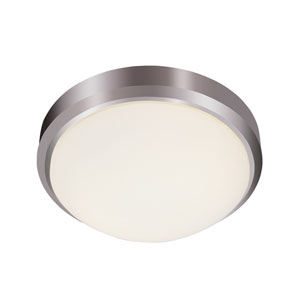 Classic Frosted 15 Inch Three-Light Flush Mount