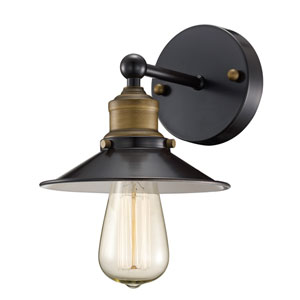 Griswald Oil Rubbed Bronze One-Light Wall Sconce