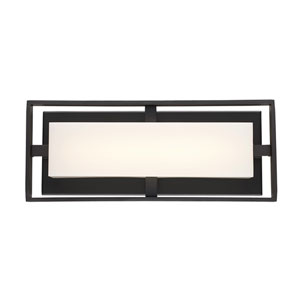 Bento Oil Rubbed Bronze 16-Inch One-Light LED Bath Vanity