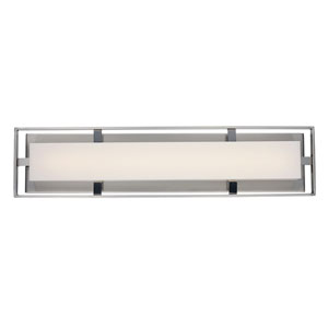 Bento Brushed Nickel 24-Inch One-Light LED Bath Vanity