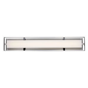 Bento Brushed Nickel 32-Inch One-Light LED Bath Vanity