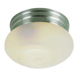 Mushroom Ceiling Globe 8 Inch Marbleized