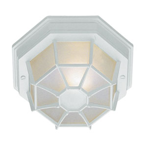 Wagoneel Swedish Iron 11-Inch Outdoor Flush Mount Ceiling Light