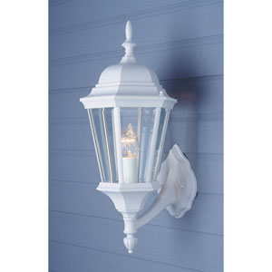 23 Inch Outdoor Wall Light -White