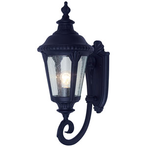 Stonebridge 19 Inch Wall Lantern -Black
