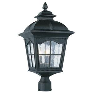 Chesapeake 22 Inch Three-Light Post Top Lantern -Black