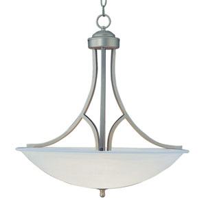 Two-Light Brushed Nickel Pendant