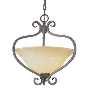 New Century Two-Light Antique Bronze Pendant