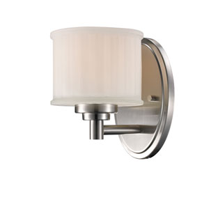 Cahill Brushed Nickel One-Light Wall Sconce