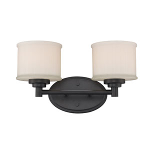 Cahill Oil Rubbed Bronze Two-Light Bath Vanity