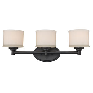 Cahill Oil Rubbed Bronze Three-Light Bath Vanity