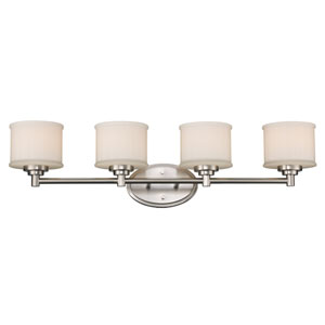 Cahill Brushed Nickel Four-Light Bath Vanity