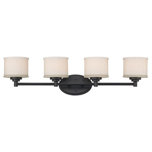 Cahill Oil Rubbed Bronze Four-Light Bath Vanity