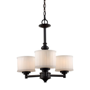 Cahill Oil Rubbed Bronze Three-Light Chandelier