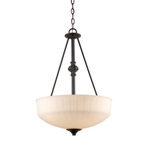 Cahill Oil Rubbed Bronze Three-Light Pendant