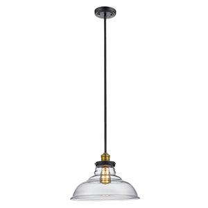 Jackson Oil Rubbed Bronze 14-Inch One-Light Pendant