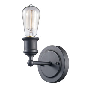 Underwood Oil Rubbed Bronze One-Light Wall Sconce