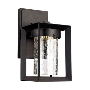 Taylor Black 10-Inch One-Light LED Outdoor Wall Mount