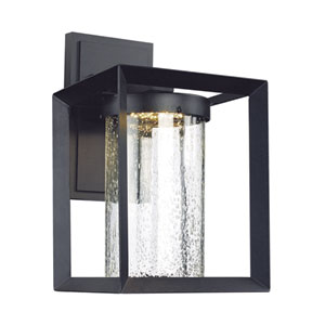 Taylor Black 15-Inch One-Light LED Outdoor Wall Mount