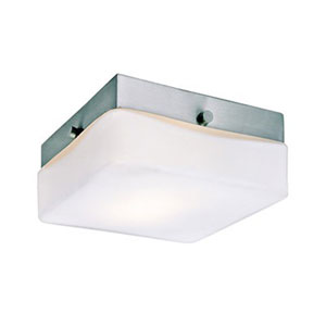 Cuvee Brushed Nickel Six-Inch One-Light LED Flush Mount