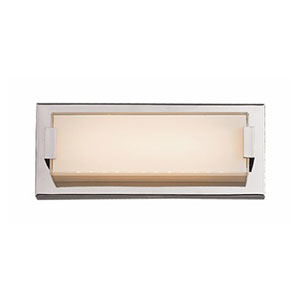 Patterson Polished Chrome 11-Inch One-Light LED Bath Vanity