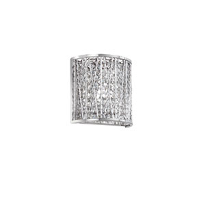 Polished Chrome One-Light 7.48-Inch Wall Sconce