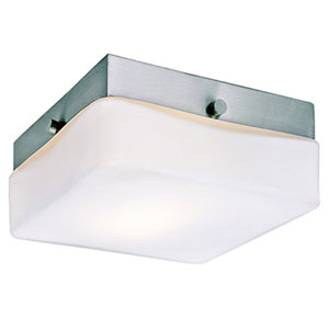 Cuvee Brushed Nickel One-Light Fluorescent Flush Mount