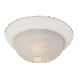 Energy Saving Standard 11 Inch Flushmount -Antique White