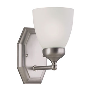 TempWall Sconce -Brushed Nickel